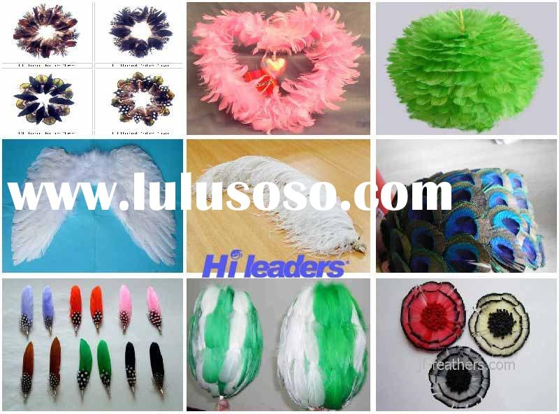 Decorative feather craft