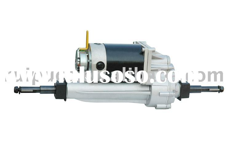 Electric gear motor assembly