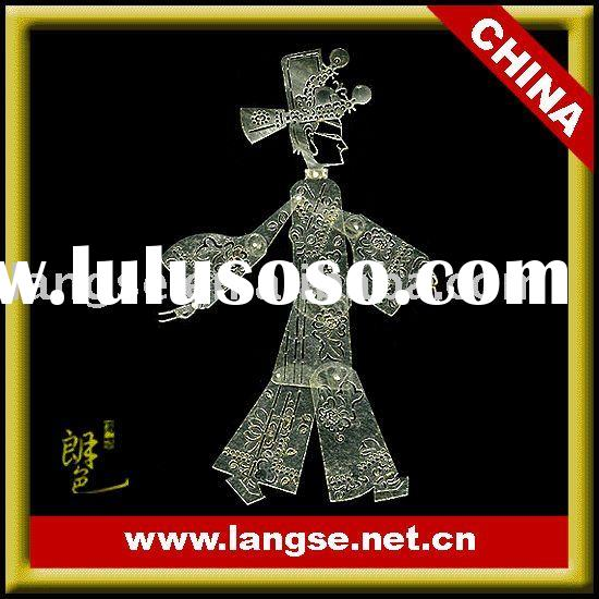 Gift idea for chinese folk artwork of shadow puppets