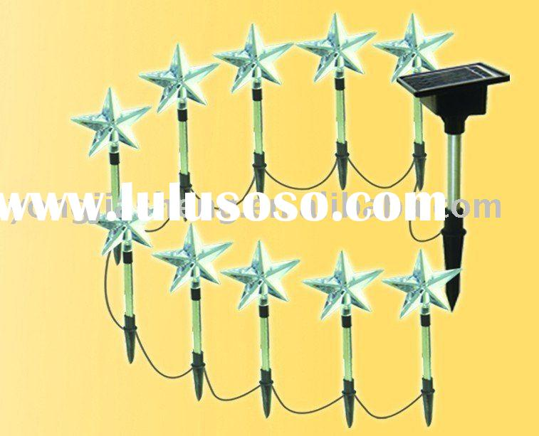 Holiday LED solar light