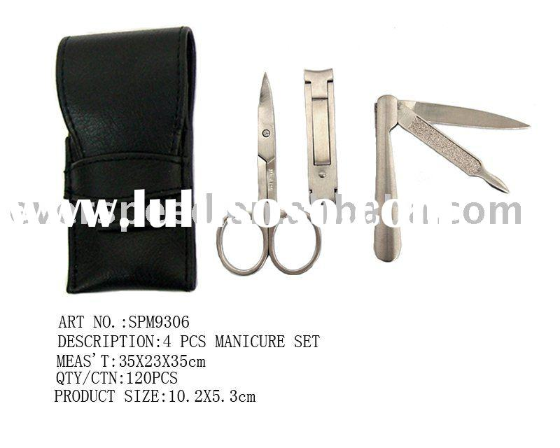 Stainless steel manicure and pedicure set