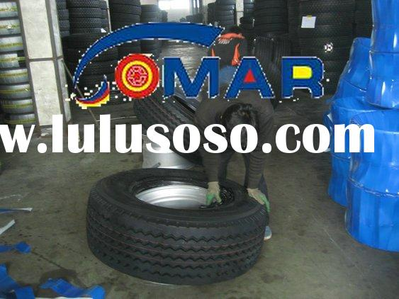 Truck tires and wheels
