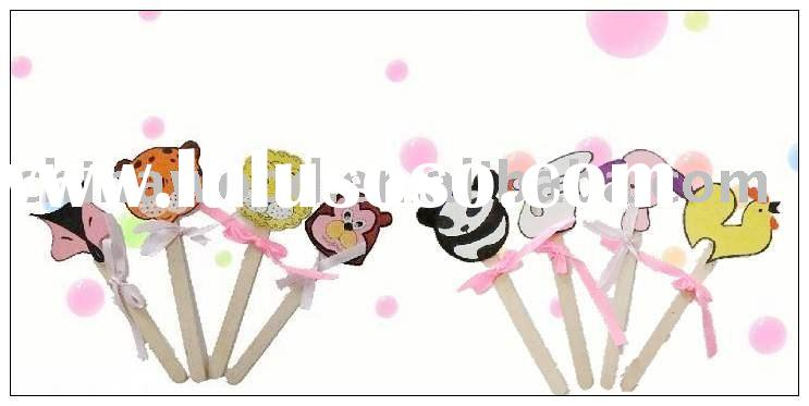 Wooden Animal Craft Sticks