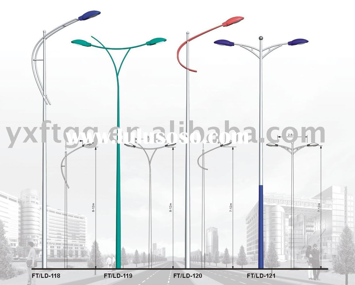 ft/ld118-121 street light poles
