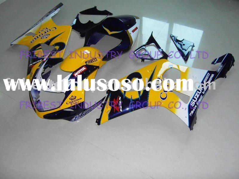 motorcycle fairing kit for SUZUKI GSXR1000 00-02 CORONA