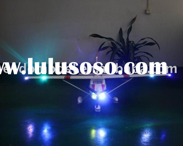 rc rtf plane EPO Cessna 182ST Large scale with LED model airplane
