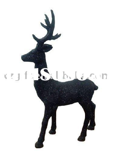 resin deer crafts