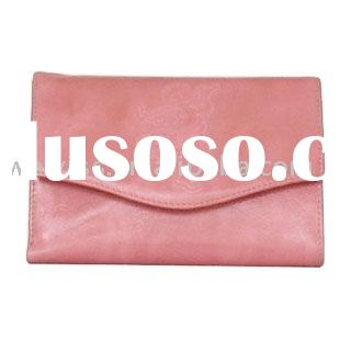 simple-style leather purse