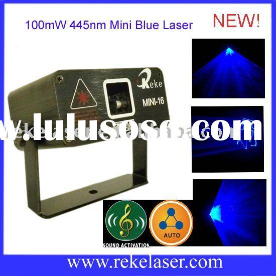 small 100mw blue motor beam laser light show
