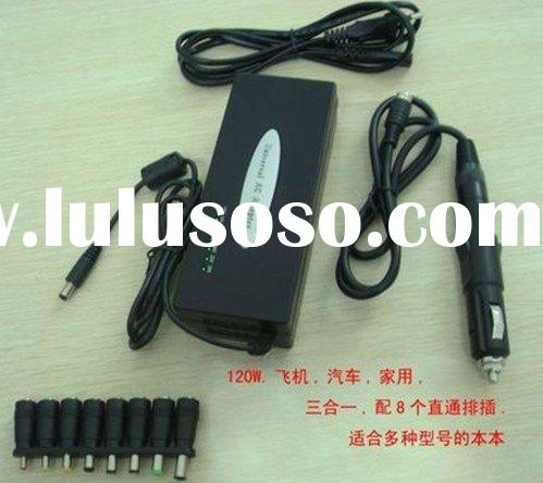 120W AC/DC 2in1 Universal laptop adapter 8 Tips SC1260