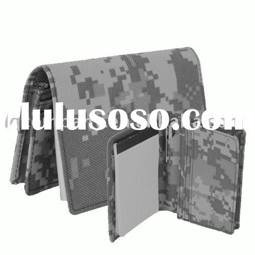 ACU camo Business card holder with pad and pen(holder,military bag)