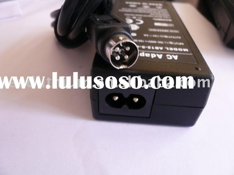 AC Adapter 12V 5A 60W 4-pin-din connector for ViewSonic and other LCD Monitor