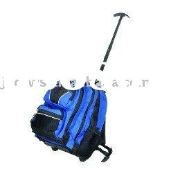 Blue School rolling laptop backpack(Fashion)