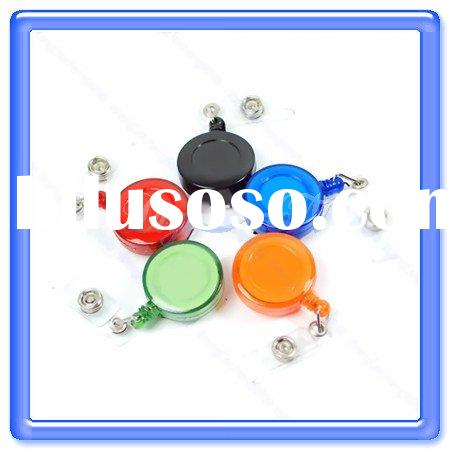 Boust 5 Retractable ID Card Badge Holder Reels Clip New (BST-AHQ)