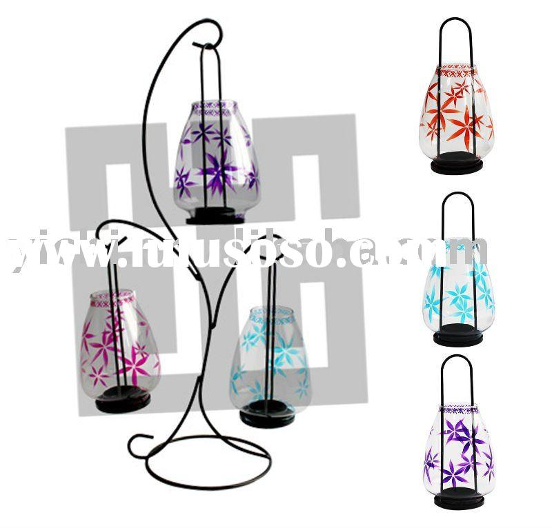 Iron candle holder sets