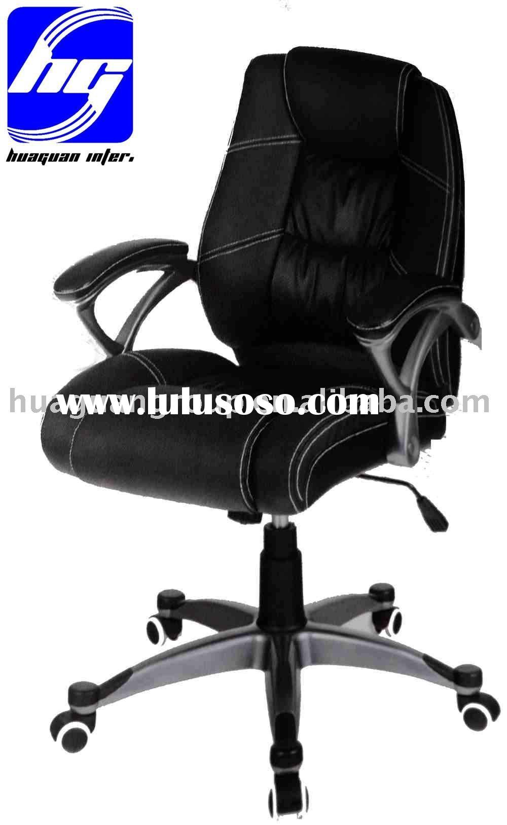 Italian style!hot! Black office furniture/boss chair with competitive price!