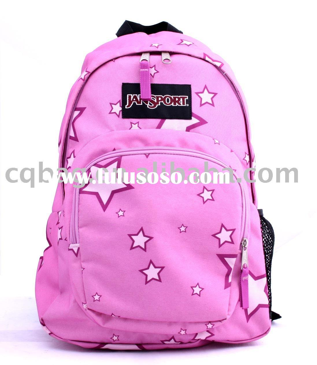 JANSPORT pink sports backpack
