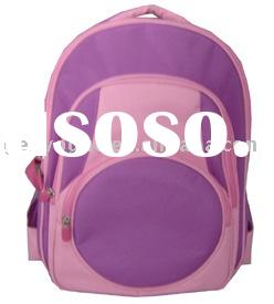 Kids school backpack made of spray microfiber
