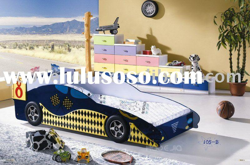 MDF Children Racing Car Bed