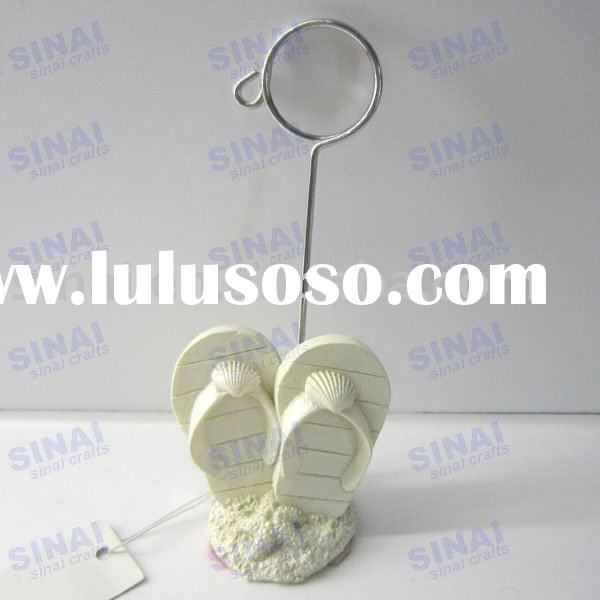 Slippers Place Card Holder