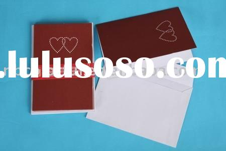 Valentine's Day Gift Cards and Envelopes