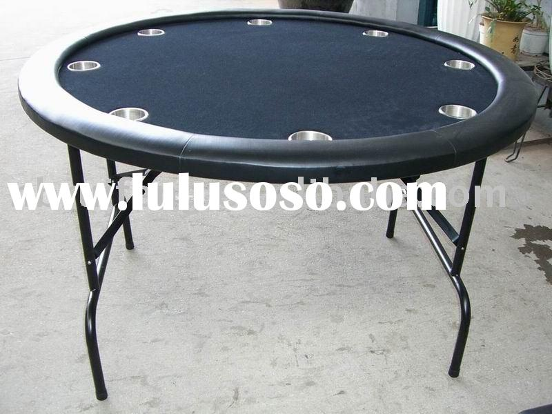 casino round poker table