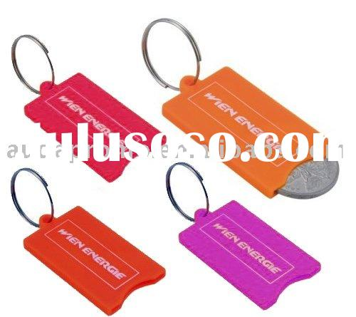 coin collector / change purse / coin holder key ring