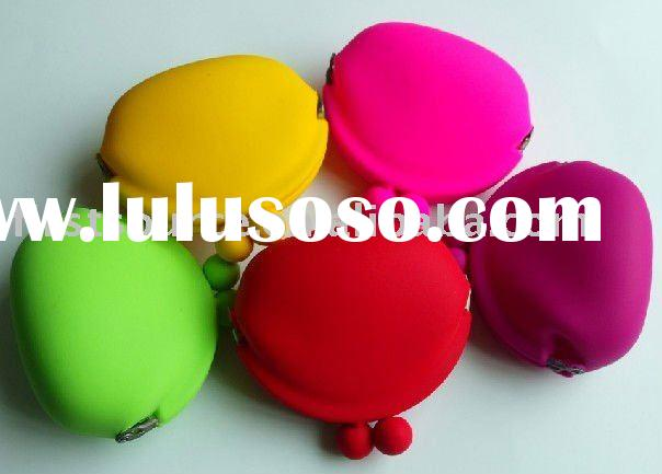 fashion silicone coin purse / silicone wallet/ coin purse / key wallet / coin holder /cosmetic pouch
