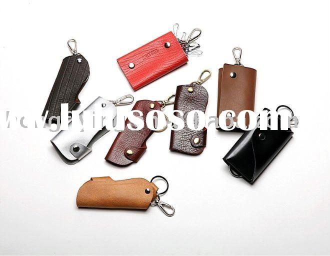 hot hot sell!! key ring holder leather business factory