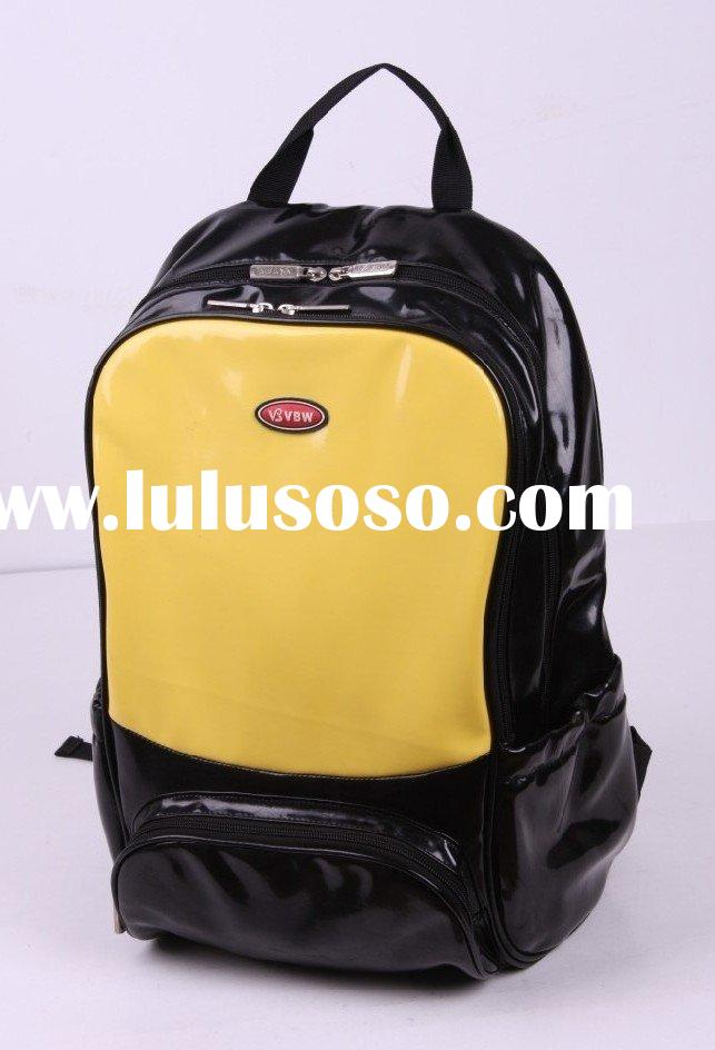 leather backpack laptop