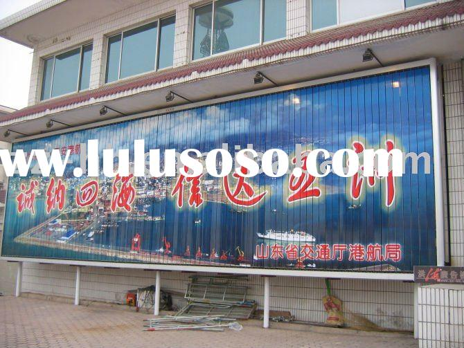mobile advertising trivision display