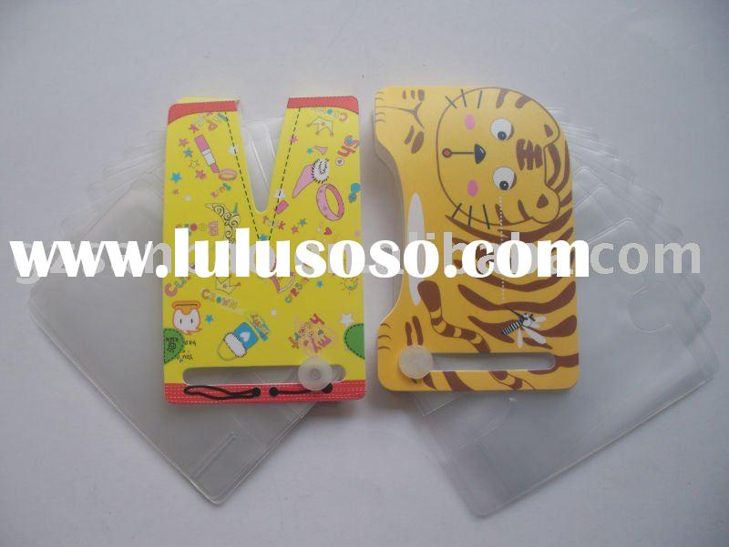plastic credit card holder, card case