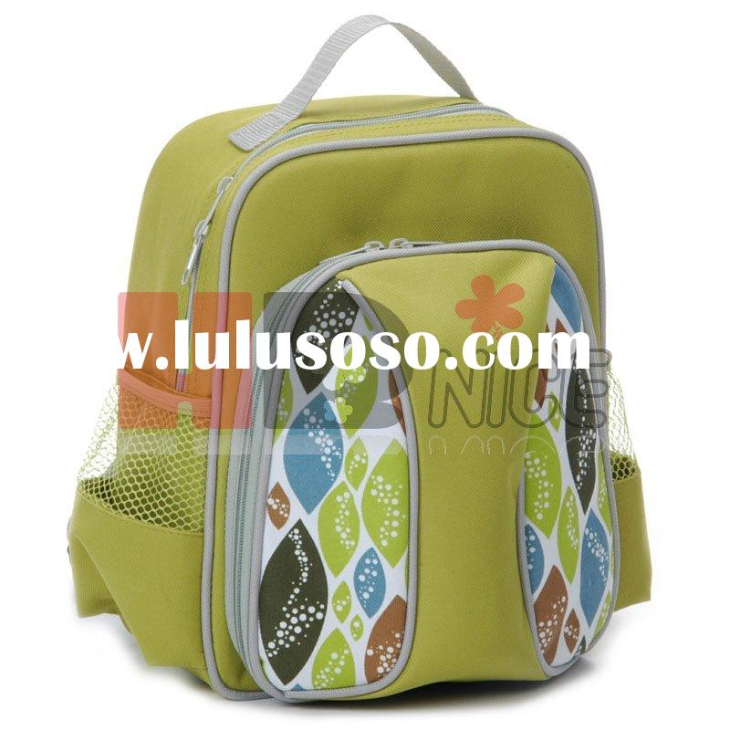 polyester kids backpack bag