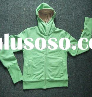 promotional basic blank hooded jacket