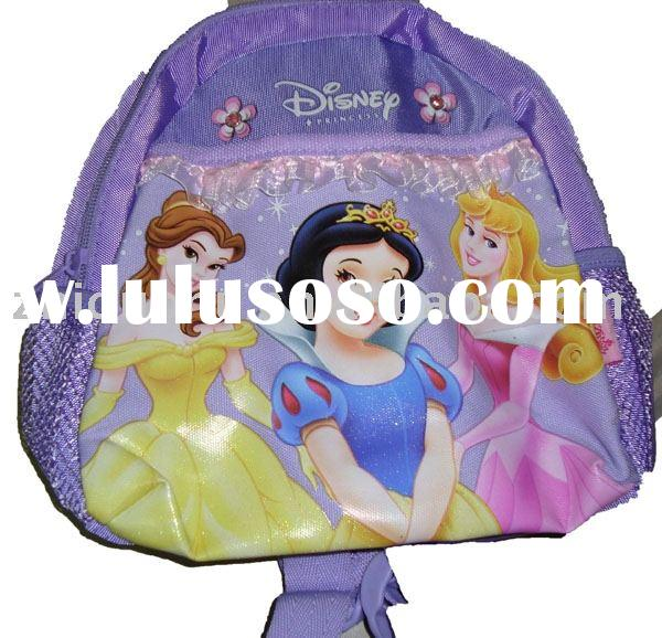 school bag lovely girl