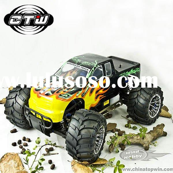 1:5 scale 26cc GAS powered off-road rc nitro monster truck car