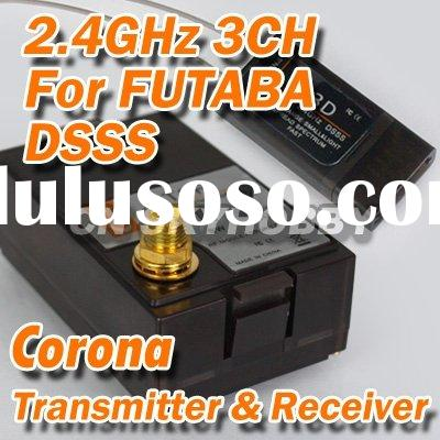 2.4G Corona CT3F Transmitter Module and CR3D DSSS for Futaba RC Receiver