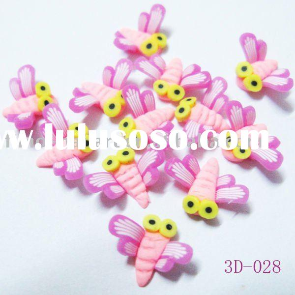 3d dragon fly for nail art