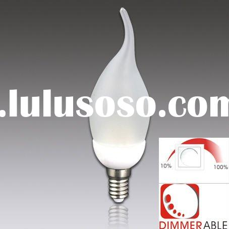 Dimmable LED bulb C37