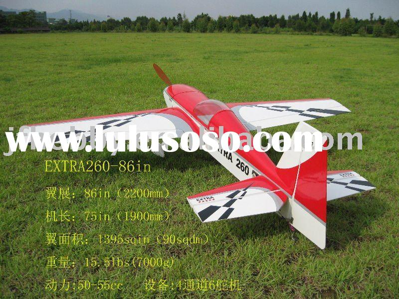 EXTRA260-86in 50-55CC gas scale model airplane