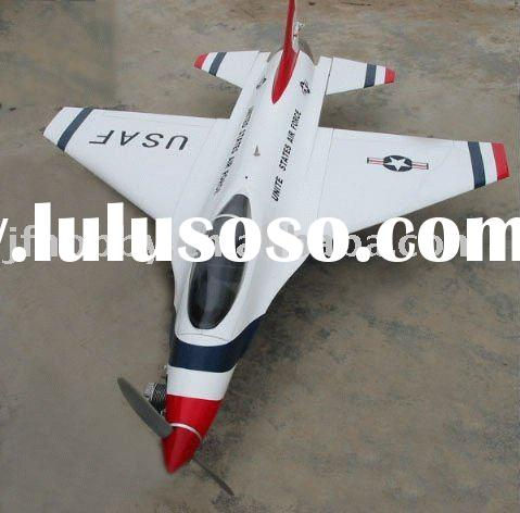 JF-F16 scale model plane