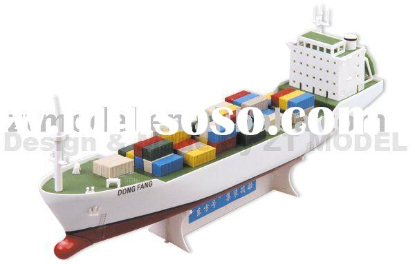 Model Boats,Hobby Models,Container Vessel