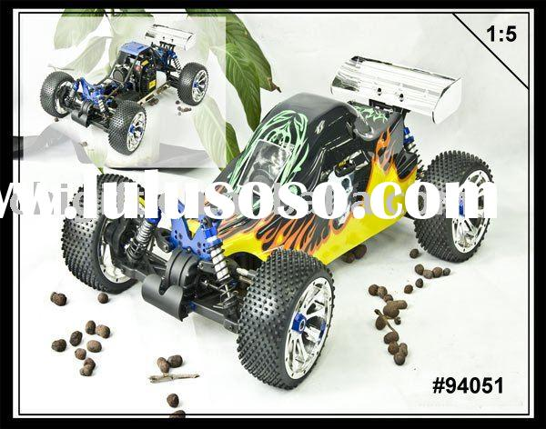 R/C Hobby - 1/5 Scale 4WD Gasoline Powered Buggy