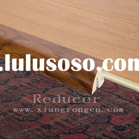 Reducers for laminate flooring