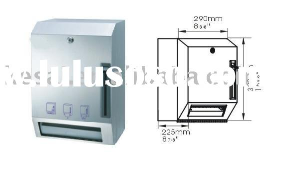 Stainless Steel Auto Paper Dispenser, Infrared Sensor Paper Towel Dispenser