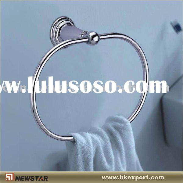 Stainless steel towel rings