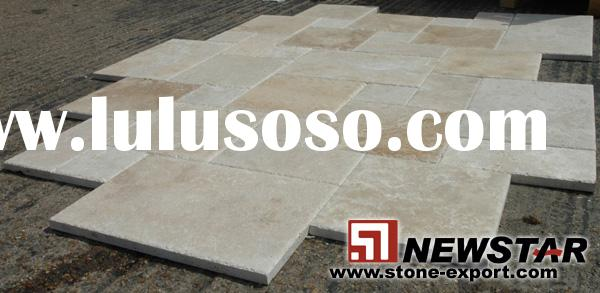 Tumbled travertine tiles,travetine floor pool,cover tiles,travertine pattern