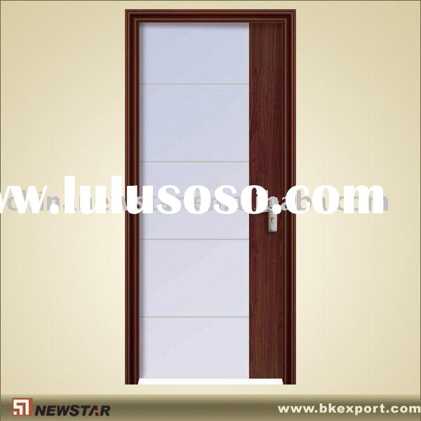 cheap steel glass door