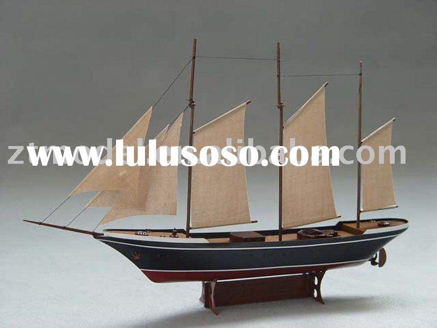 electric powered sailboat model