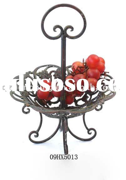 metal fruit tray